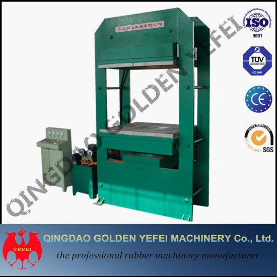 The Rubber Conveyor Belt Vulcanizer Hydraulic Press Xlb-Qd800*1400 pictures & photos