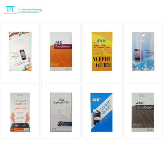 Packing Customized Screen Protector for Nokia/Samsung/LG/Sony/Huawei/Zte/Blu/Alcatel/Tecno