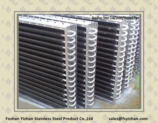Stainless Steel Pipe for Air Conditioner Box pictures & photos