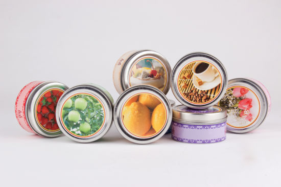 Candle Metal Tin with All Kinds of Scents pictures & photos