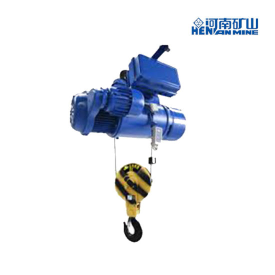 Compact Structure 380V 50Hz 6-12m 1-20 Tons CD Electric Wire Rope Hoist