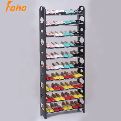 10 Tier Shelf Amazing Plastic Shoe Rack /Organizer/Stand for 30 Pair Shoes for Sale pictures & photos