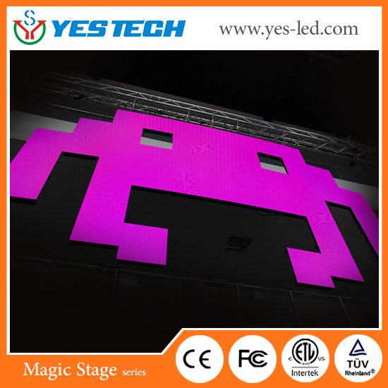 Full Color RGB Electronic LED Screen Module 500*500mm China Supplier pictures & photos