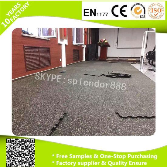 EPDM Gym Fitness Rubber Flooring