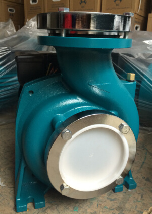 Wedo High Power Electric Motor Hydraulic Pump Centrifugal Pump (nfm-130c) with Flange pictures & photos