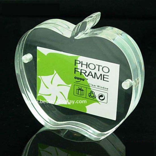 Acrylic Double Sided Organic Glass Photo Frame (BTR-U1081)