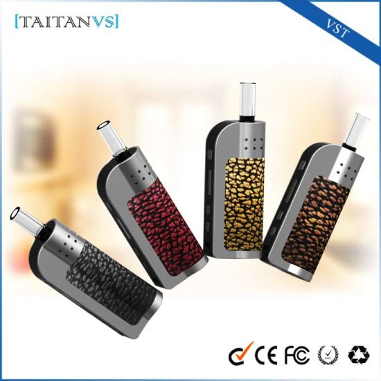 Replaceable Battery Dry Herb Vaporizer E Cigarette Tank Burner pictures & photos