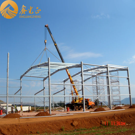 Prefabricated Steel Structure Warehouse (SS-378)