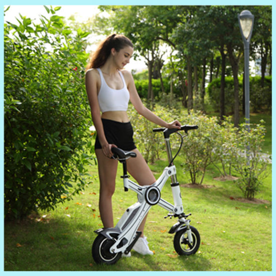 Mini Small Folding Electric Bikes with Panasonic Battery pictures & photos