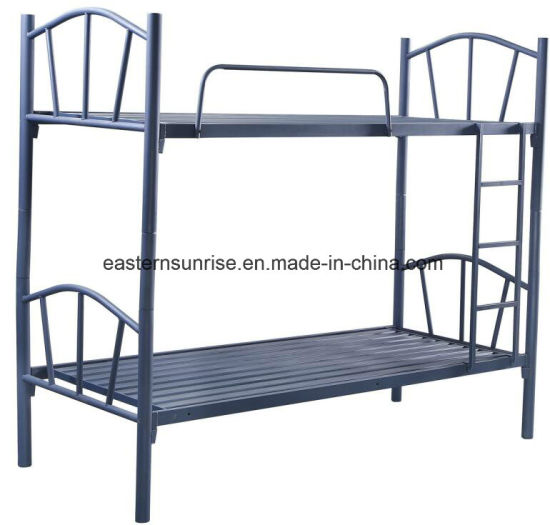 China Metal Double Bunk Bed Adult Metal Bunk Beds Steel Army Bunk