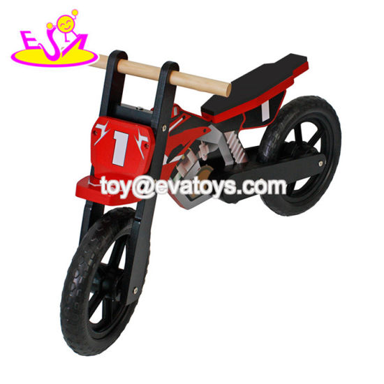 Newest Design Safety 2 Wheels Wooden Balance Bike for Children W16c152 pictures & photos