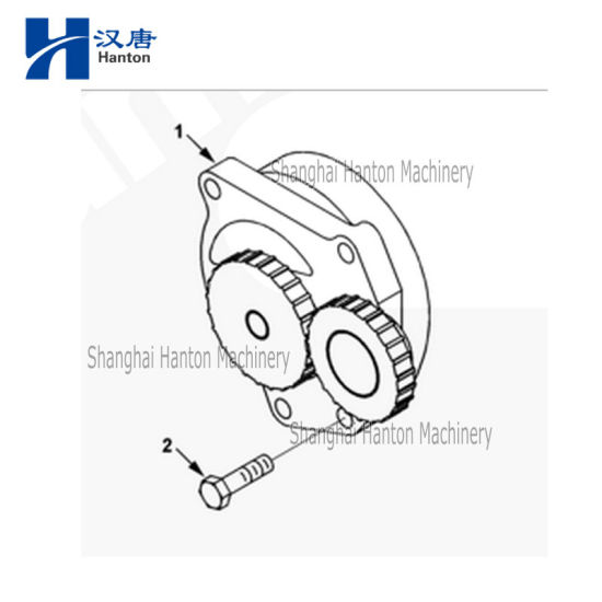 China Cummins Diesel Engine Qsl Lubrication Oil Pump 3991123 4983588
