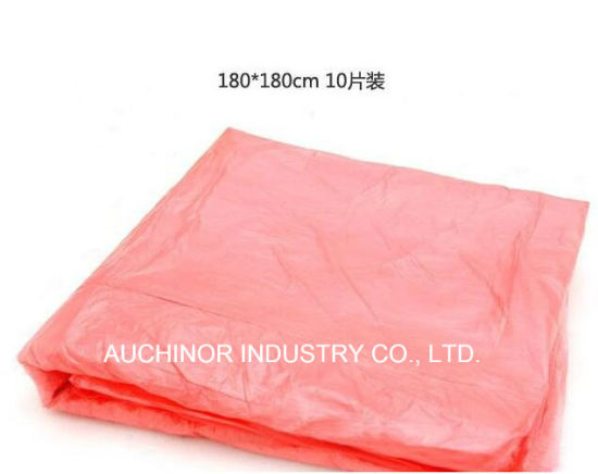 Wholesale Solid Color Biodegradable Disposable Plastic Table Cloth pictures & photos