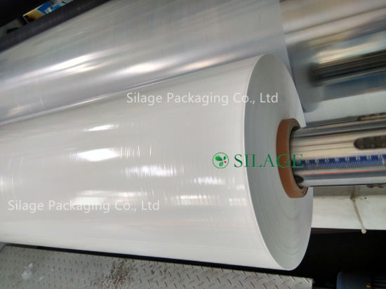 PE Blown Silage Bale Wrap Net Replace Inner Barrier Silage Film pictures & photos