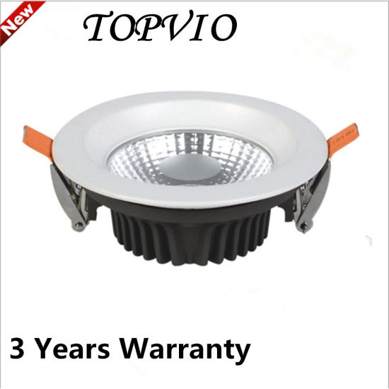Recessed LED COB Downlights 10W AC85-265V Ceiling Spot Lamps pictures & photos