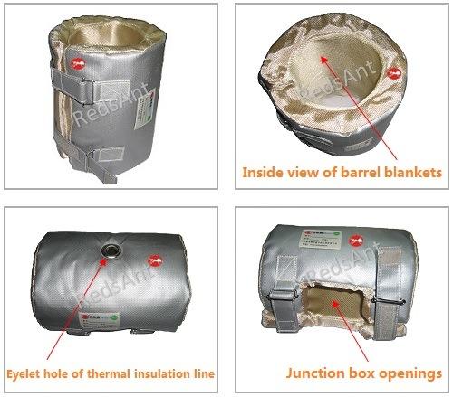 Redsant Removable Fiberglass Thermal Insulation