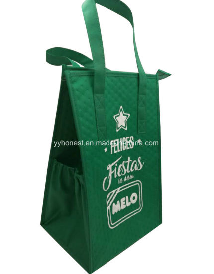 Recycled Ice Lunch Picnic Food Shopping Cooler Bag for Promotion pictures & photos