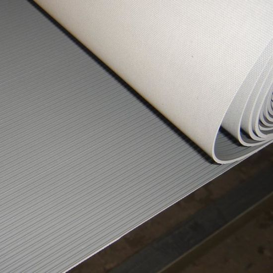 China Fine Ribbed Rubber Sheet Corrugated Rubber Sheet