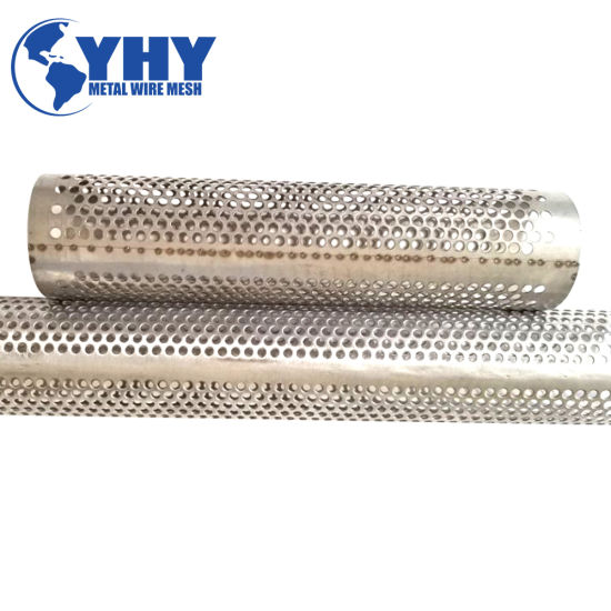 Round Hole Carbon Steel Pipe Perforated for Filter pictures & photos