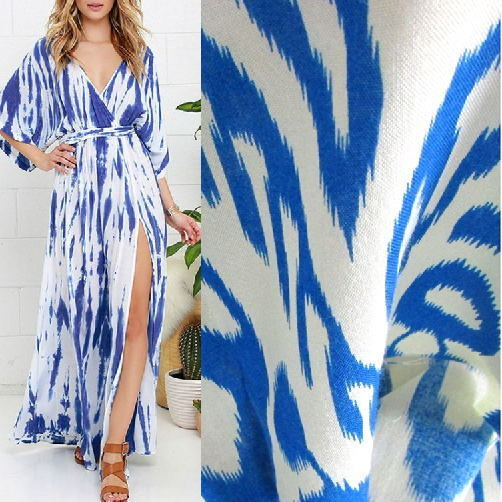 Printed Viscose Rayon Fabric for Summer Wear pictures & photos