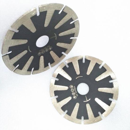 T Shape Diamond Turbo Cutting Disc Concave Saw Blade