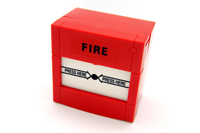 Fire Glass-Broking Detector