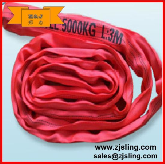 2t Polyester Endless Round Webbing Sling L=3m (customized) pictures & photos