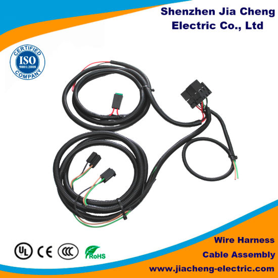 China Ce RoHS Approval OEM Auto Electrical Wiring Harness ... on