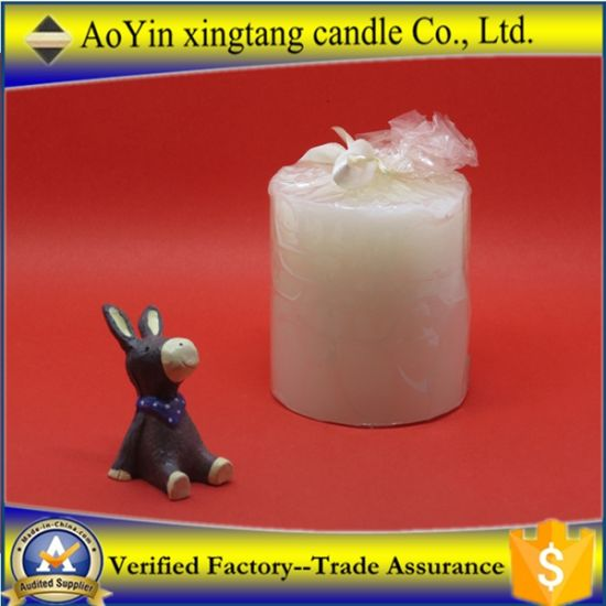Wholesale 3X5 Unscented Paraffin Pillar Candles