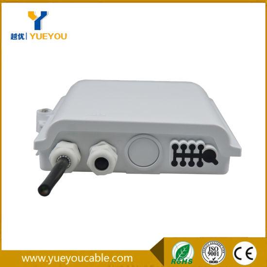 China Pole Mount IP65 Fiber Optic Terminal Box 8 Fibers for