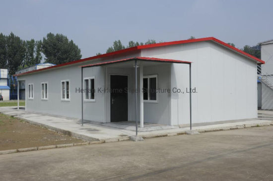 Fire Resistant Low Cost Prefabricated Steel Structure Panelized House