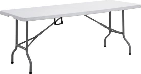 6ft Fold in Half Table (YCZ-183Z) pictures & photos