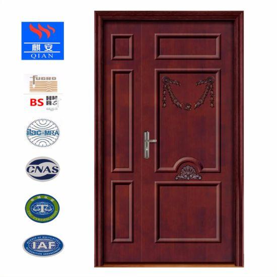 China Black Walnut Solid Wood Interior Door China Wooden Door