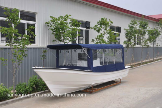 19 Feet Mini Cabin Boats Fiberglass Small Cabin Fishing Boats