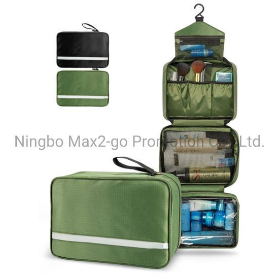 2020 New Arrival Portable Waterproof Bathroom Bag Hanging Toiletry Bag