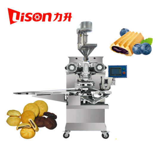 Muntifunction Automatic Chocolate Filled Two Color Cookies Making Machine