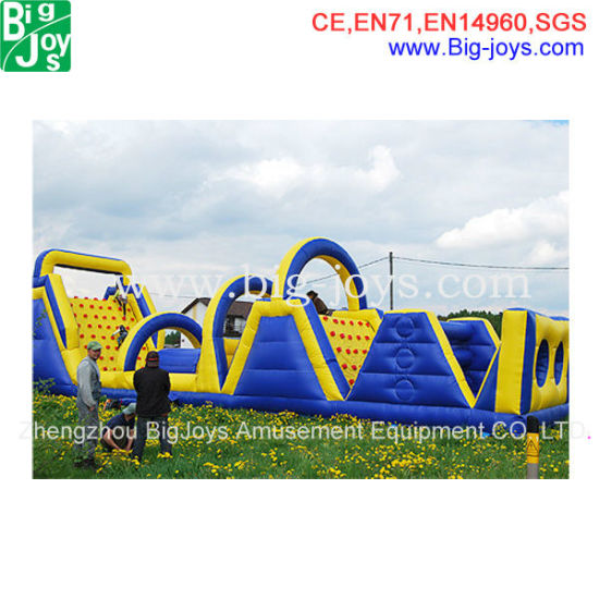 New Design Inflatable Obstacle Course (DJOB007) pictures & photos