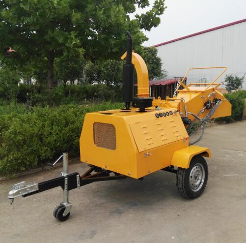 40HP Diesel Power Wood Chipper Machine Shredder