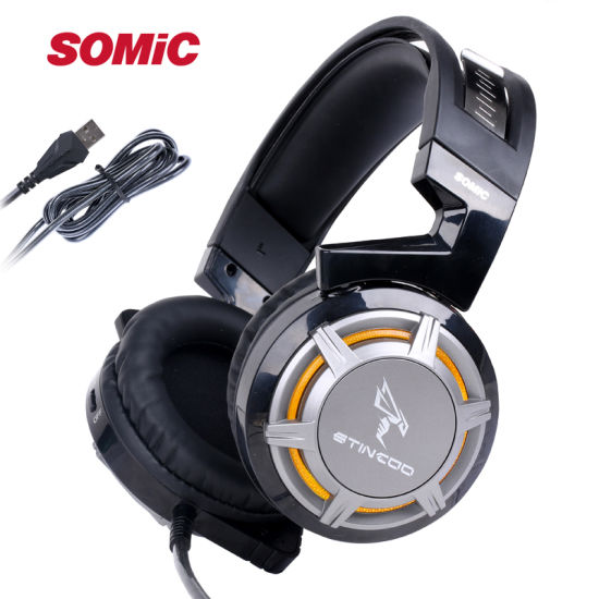 Somic G926 USB Professional 7.1 Surround Sound Gaming Headset Headphone with Microphone for PC