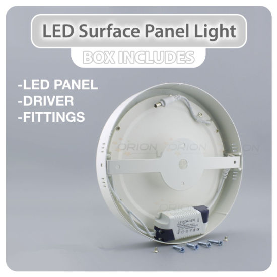 Longlife 6W, 12W, 18W, 24W Surface Mounted LED Panel pictures & photos