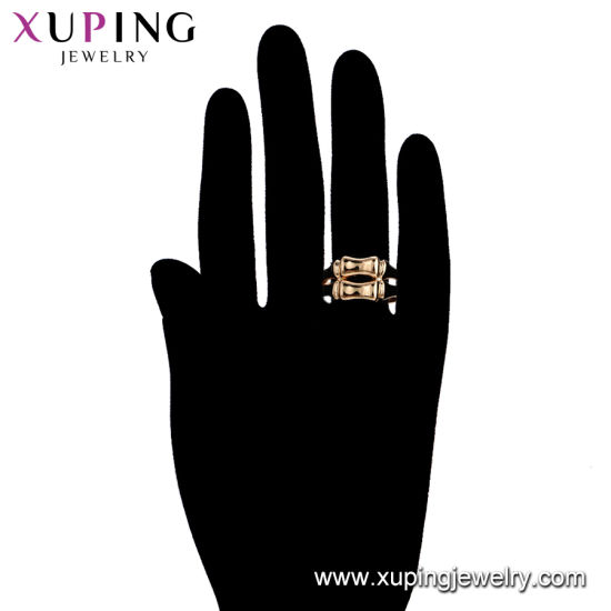 12235 Fashion Zircon Copper Bbrass Alloy Plating Gold College Jewelry Finger Ring for Women pictures & photos