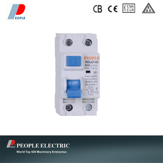 Residual Current Circuit Breakers Household RCCB pictures & photos