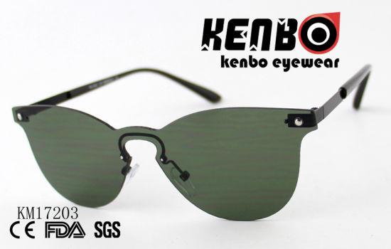 b7fecd5440ff China Frameless Sunglasses with Smart One Piece Lens Km17203 - China ...