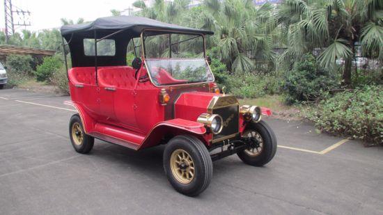 Holiday Village 48v Mini Model T Electric Car For Penger