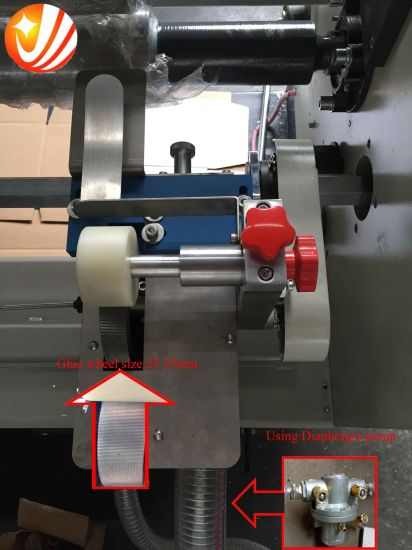 Automatic Corrugated Folder Glue Machine pictures & photos