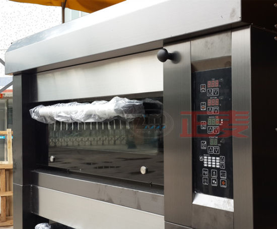 High Efficiency Electric Commercial 2 Layers Baking Bread Oven (ZMC-204D) pictures & photos
