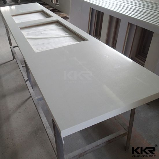 Artificial Marble Stone Resin Countertops For Kitchen
