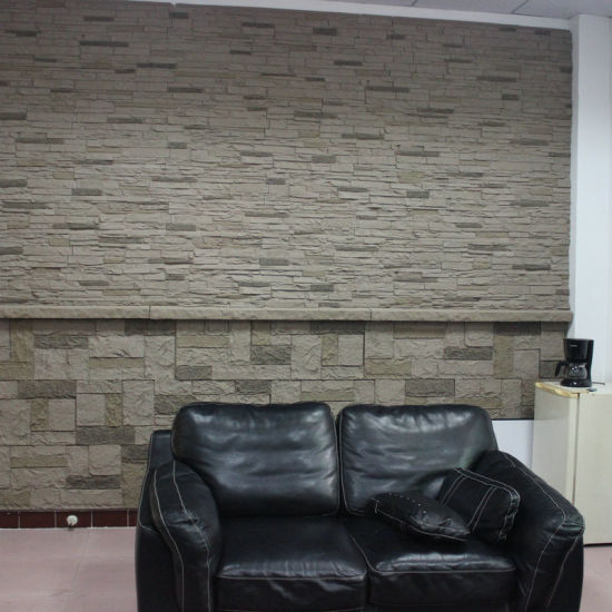 Interior & Exterior Wall Decoration Wall Cladding Polyurethane Faux Stone PU 3D Wall Panel pictures & photos