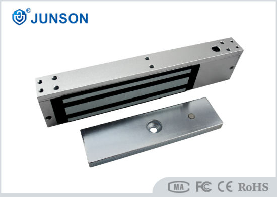 Single Door Electromagnetic Lock Anodized Aluminum Housing 800lbs JS-350