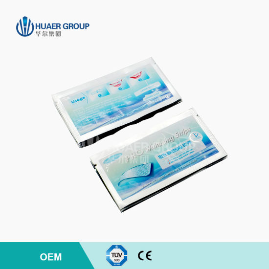 Professional Effect Teeth Whitening Strips with Advanced No Slip Technology pictures & photos